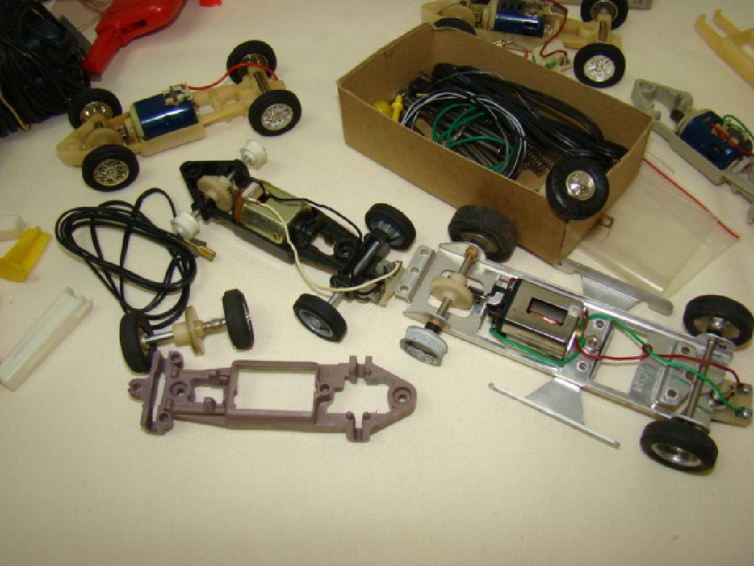 ELDON SLOT CARS PARTS-ENGINES AND ACCESSORIES - 6