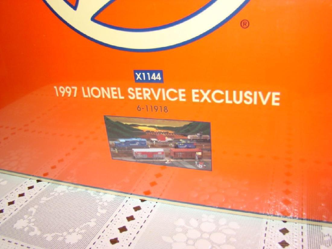 1997 LIONEL SERVICE EXCLUSIVE COMPLETE TRAIN SET 6 - 2