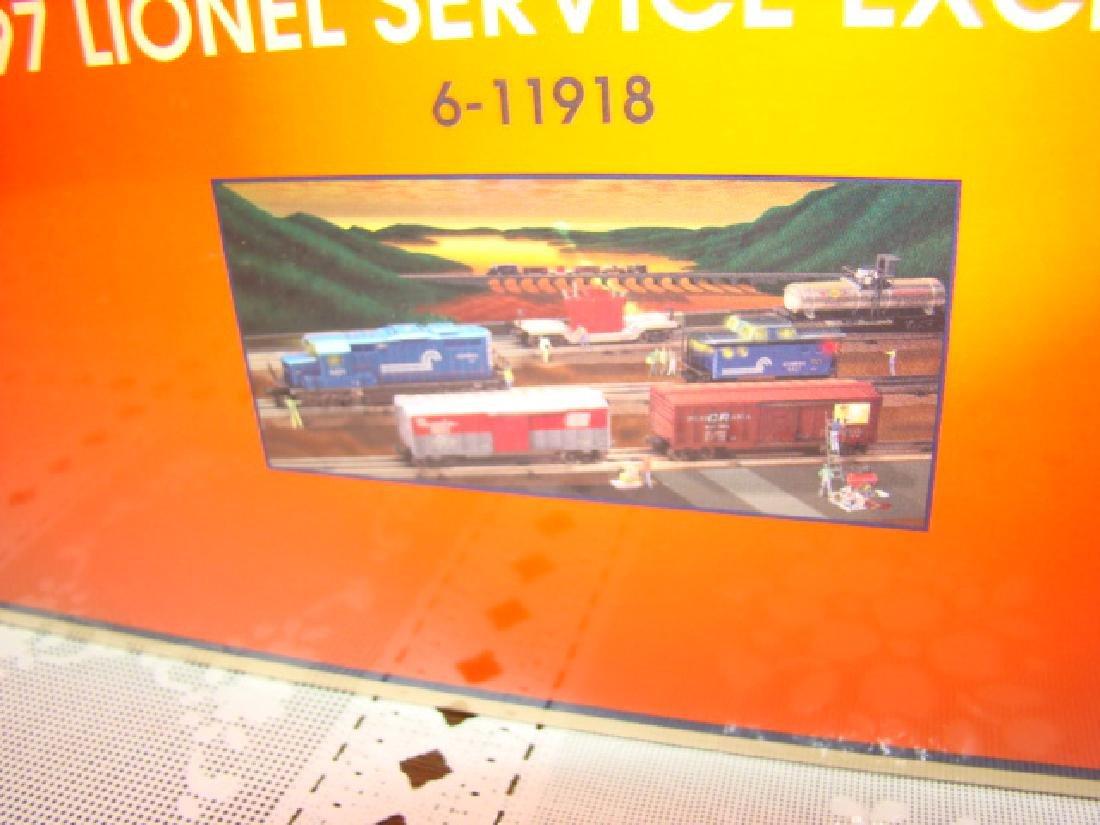 1997 LIONEL SERVICE EXCLUSIVE COMPLETE TRAIN SET 6 - 3