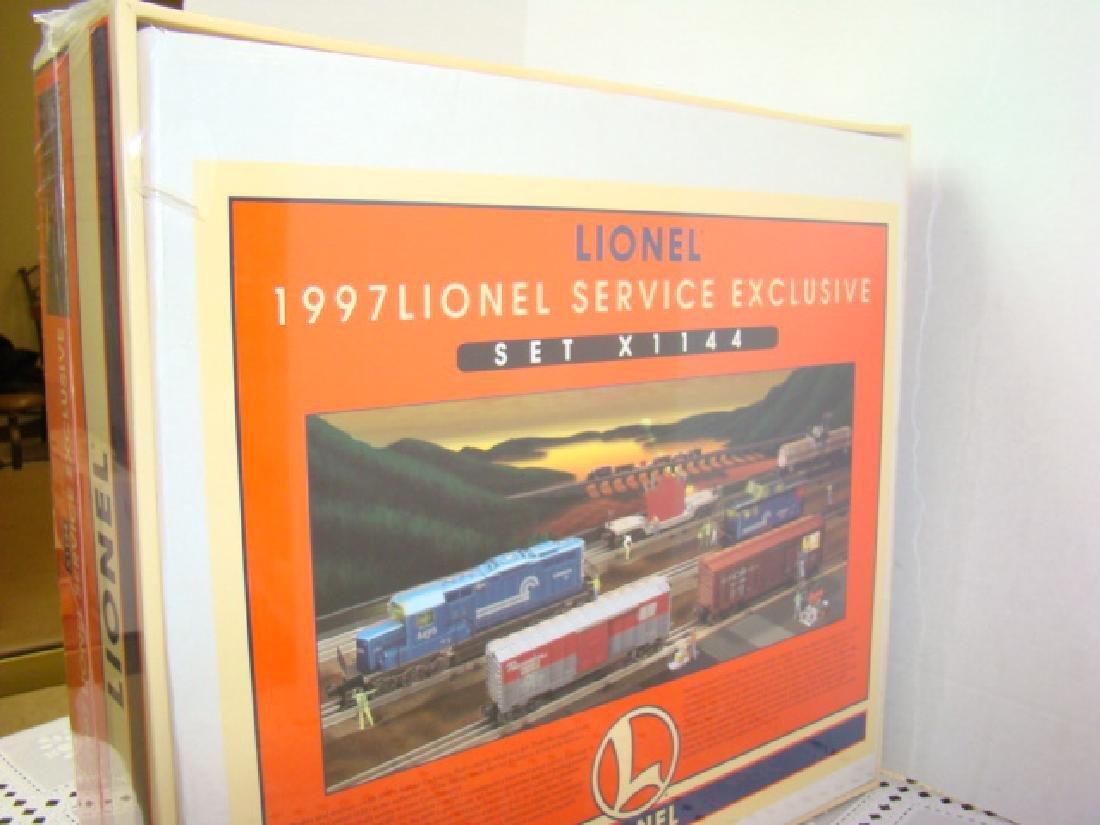1997 LIONEL SERVICE EXCLUSIVE COMPLETE TRAIN SET 6 - 5