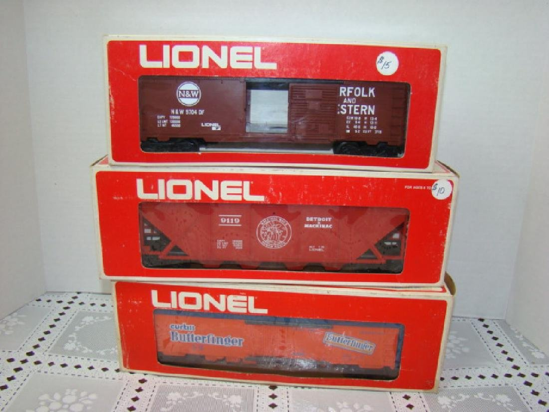LIONEL N&W BOX CAR #6-9704 - DETROIT & MACKINAW CO