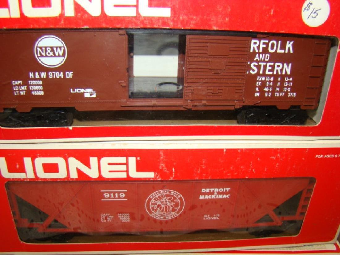 LIONEL N&W BOX CAR #6-9704 - DETROIT & MACKINAW CO - 2