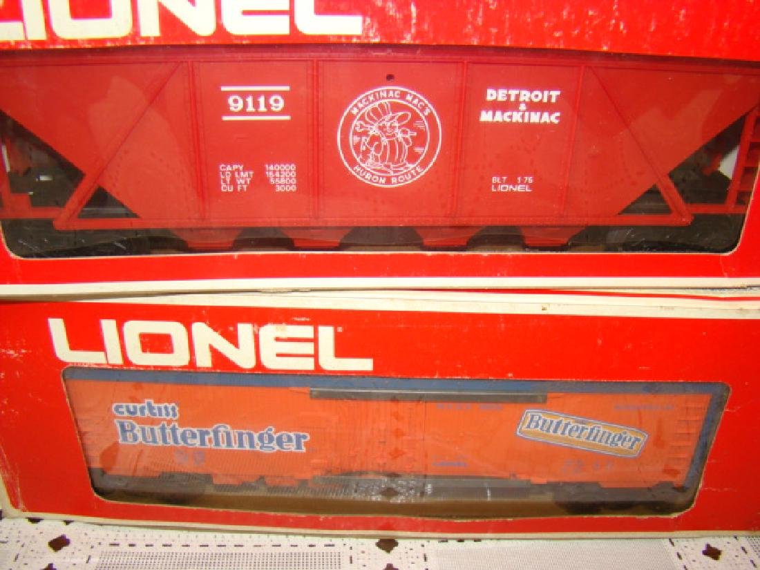 LIONEL N&W BOX CAR #6-9704 - DETROIT & MACKINAW CO - 3