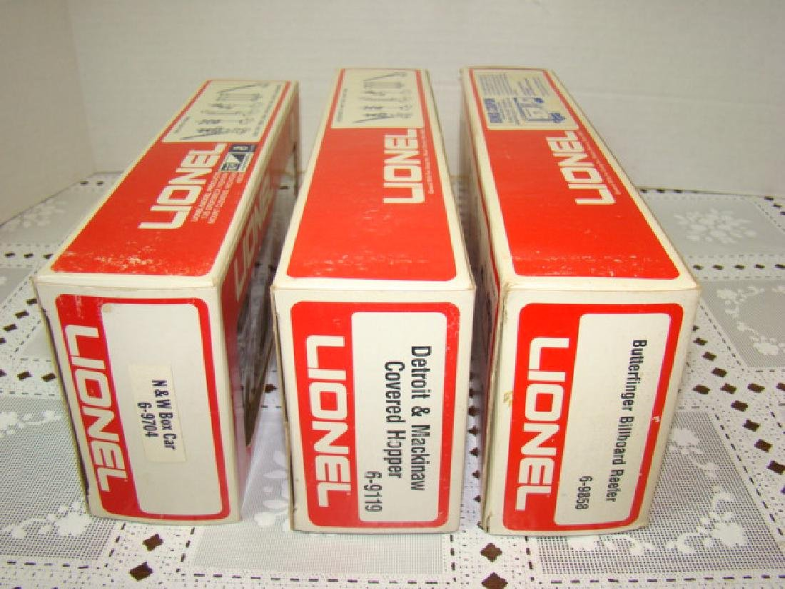 LIONEL N&W BOX CAR #6-9704 - DETROIT & MACKINAW CO - 6