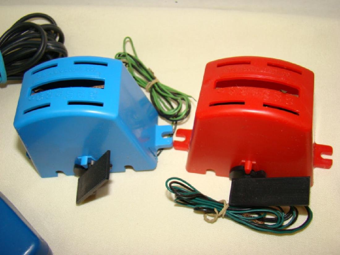 MIXED SLOT CAR LOT-GILBERT-ELDON & POWER PASSERS - 10