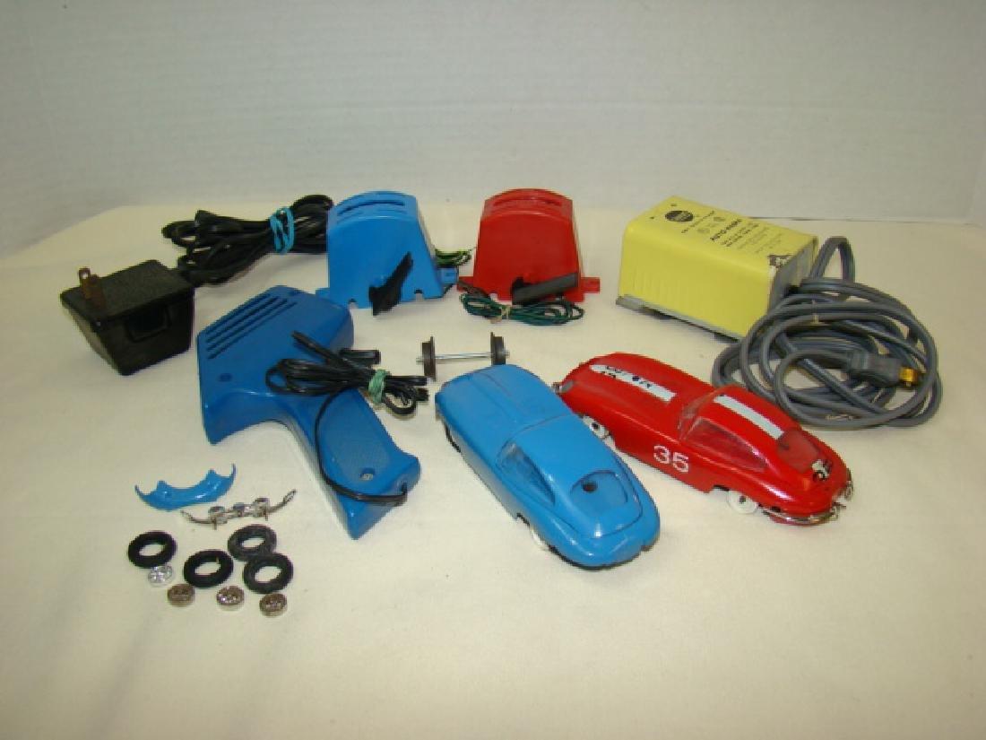 MIXED SLOT CAR LOT-GILBERT-ELDON & POWER PASSERS