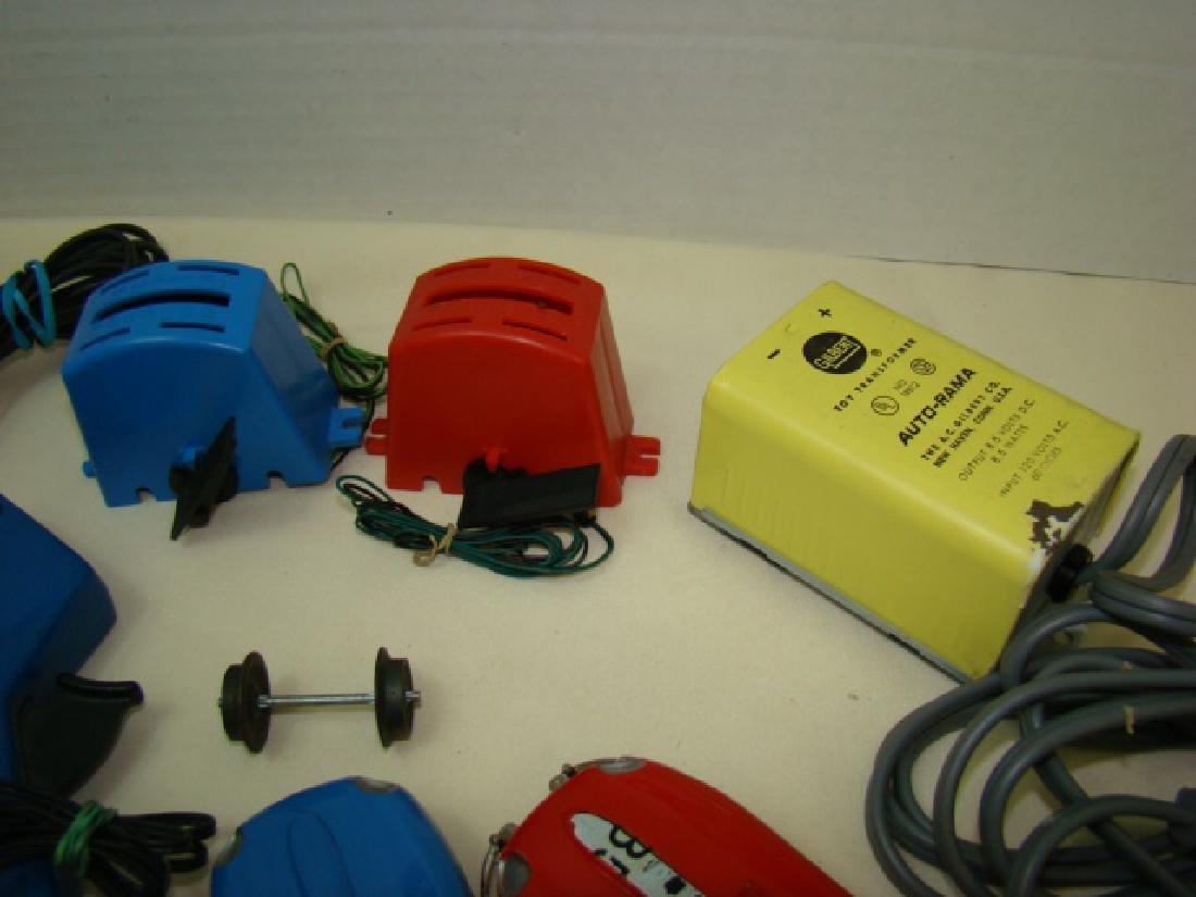 MIXED SLOT CAR LOT-GILBERT-ELDON & POWER PASSERS - 2
