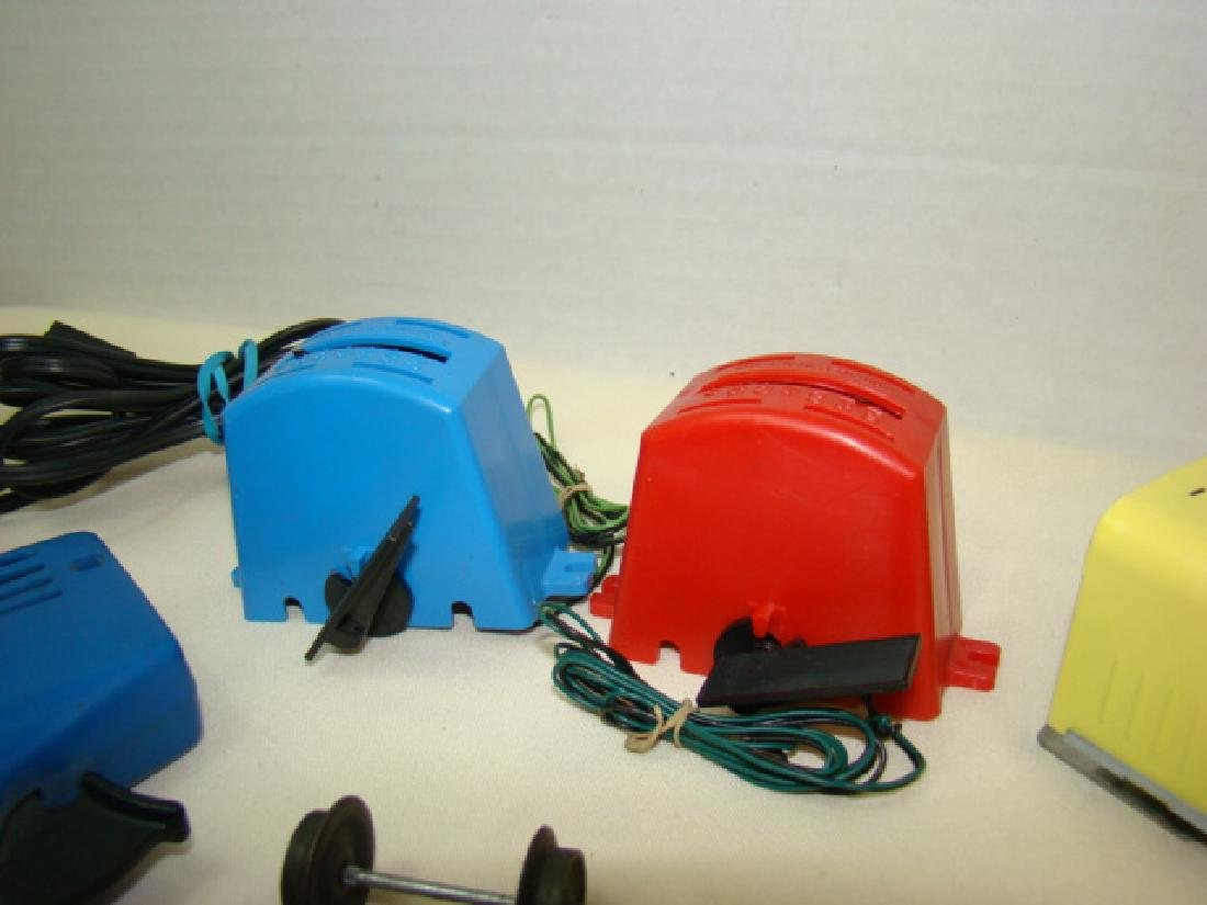MIXED SLOT CAR LOT-GILBERT-ELDON & POWER PASSERS - 3