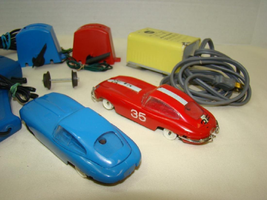 MIXED SLOT CAR LOT-GILBERT-ELDON & POWER PASSERS - 4