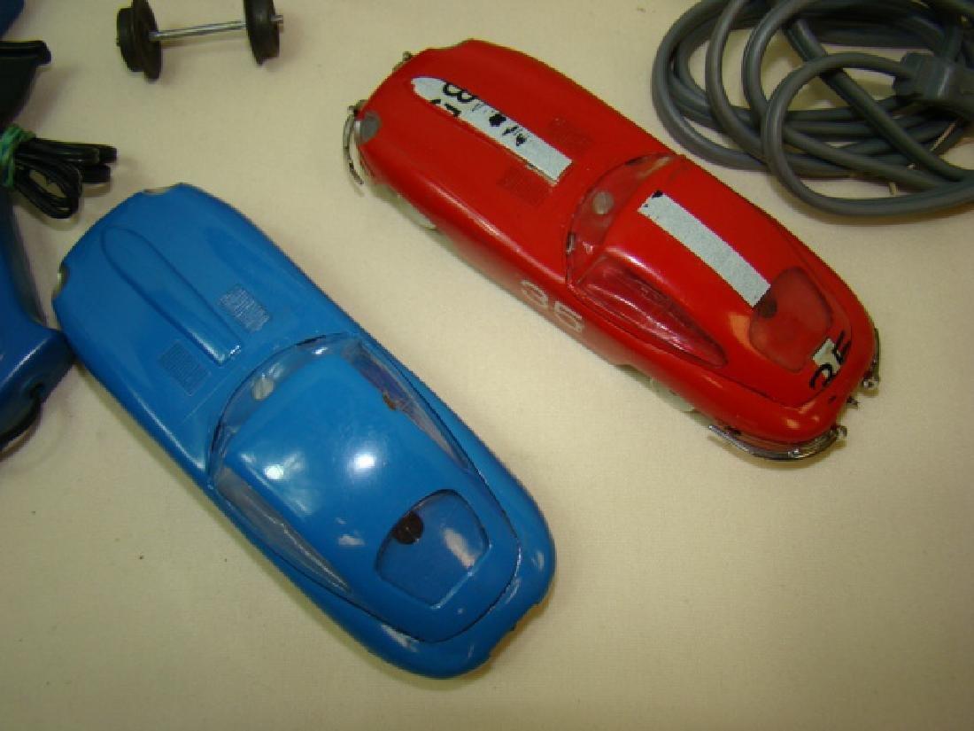 MIXED SLOT CAR LOT-GILBERT-ELDON & POWER PASSERS - 5