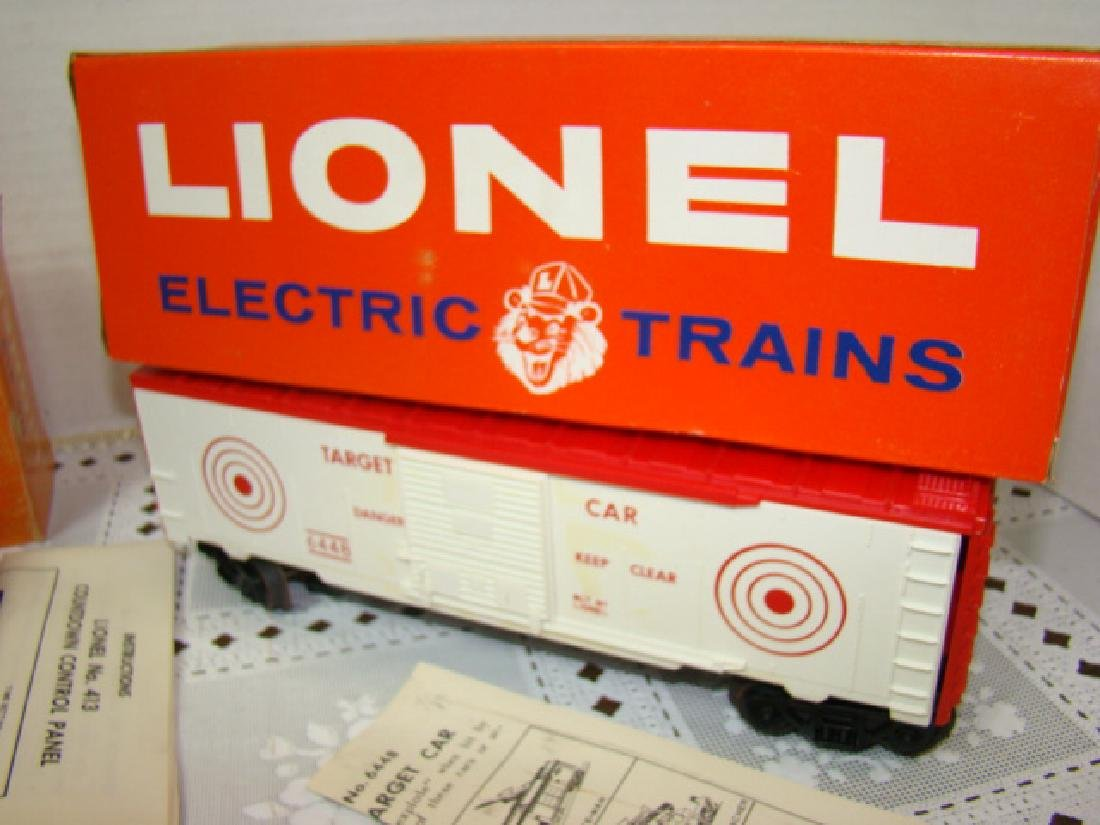 LIONEL 413 COUNTDOWN CONTROL AND 6448 TARGET CAR - 3