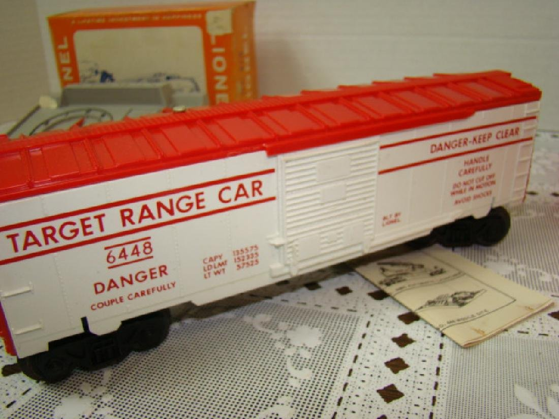 LIONEL 413 COUNTDOWN CONTROL AND 6448 TARGET CAR - 5