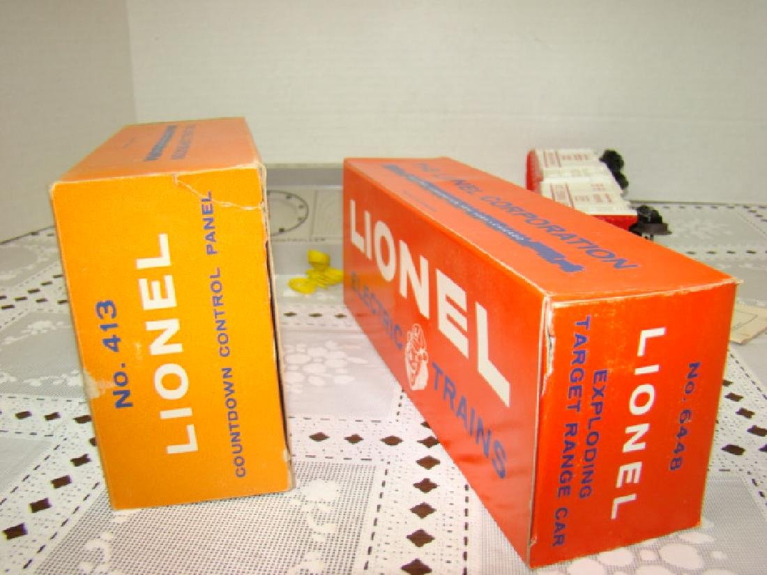 LIONEL 413 COUNTDOWN CONTROL AND 6448 TARGET CAR - 7