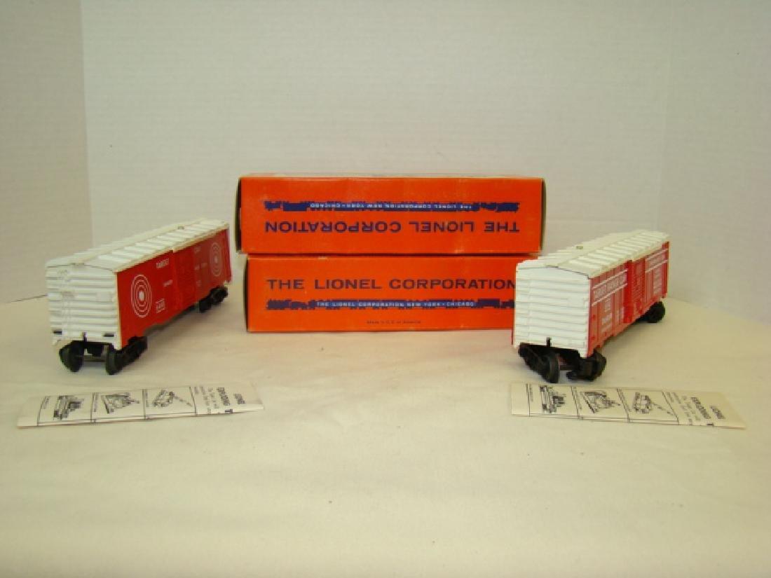 2 LIONEL EXPLODING TARGET RANGE CARS 6448-NIB - 5