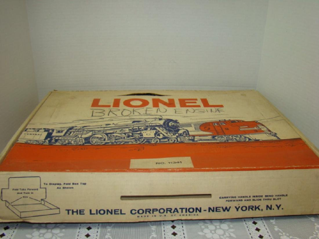 LIONEL TRAIN SET 11341 IN ORIGINAL BOX