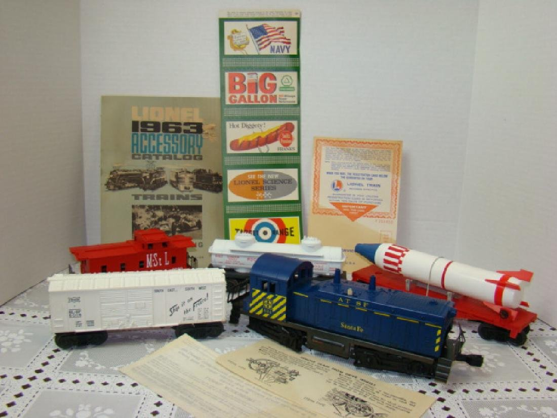 LIONEL TRAIN SET 11341 IN ORIGINAL BOX - 2