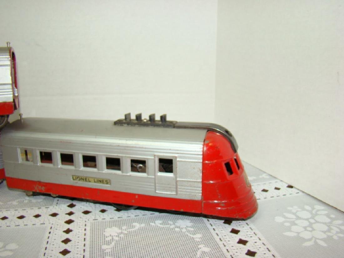 LIONEL TRAIN LINES - LIONEL JR 4 PIECE TIN TRAIN S - 2