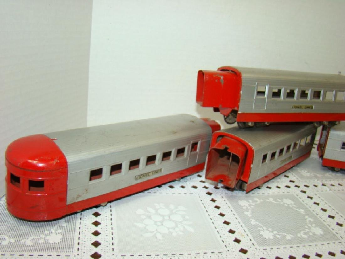 LIONEL TRAIN LINES - LIONEL JR 4 PIECE TIN TRAIN S - 3