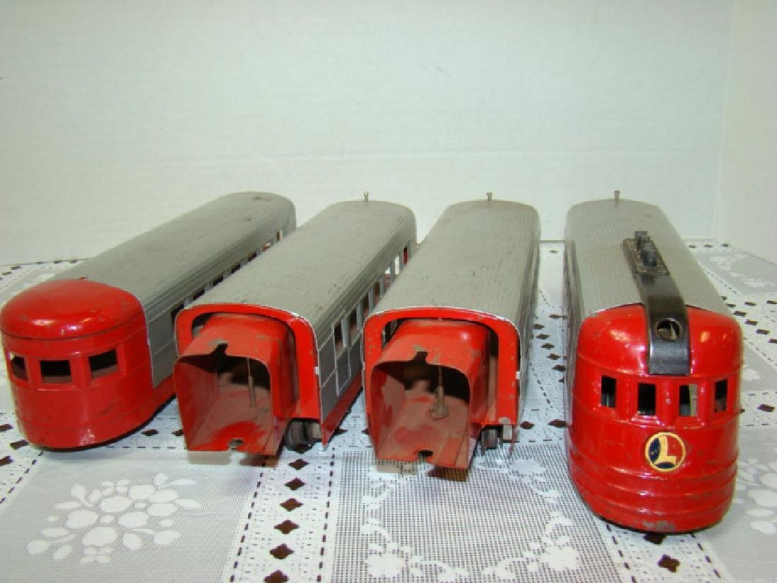 LIONEL TRAIN LINES - LIONEL JR 4 PIECE TIN TRAIN S - 4