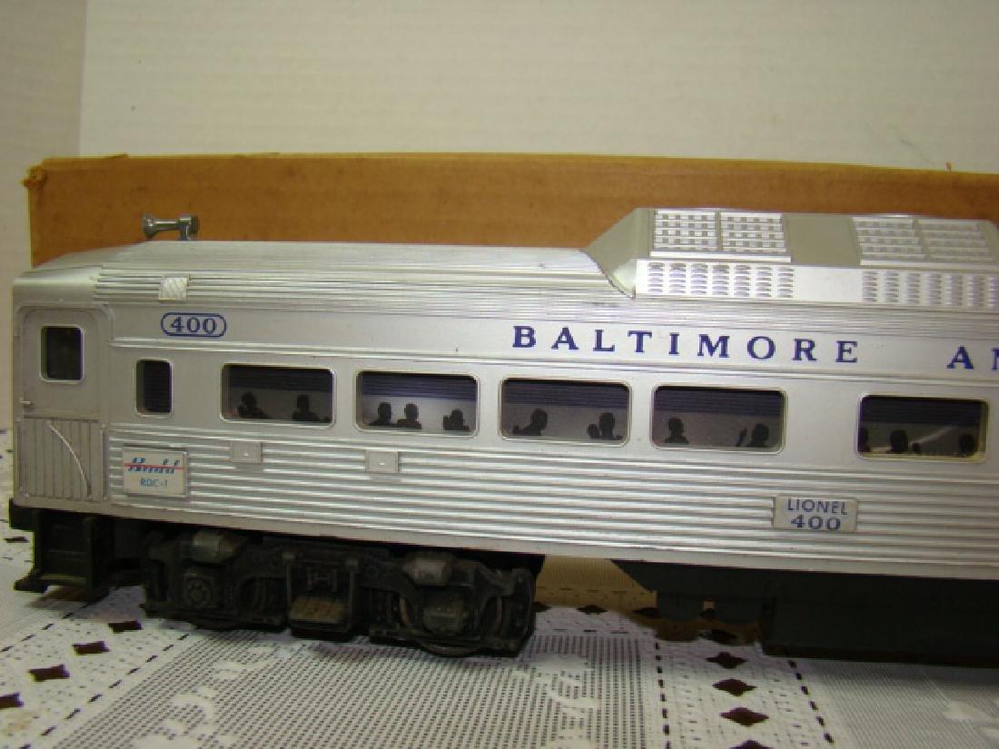 LIONEL TRAIN- BALTIMORE & OHIO PASSENGER TRAIN IN - 2