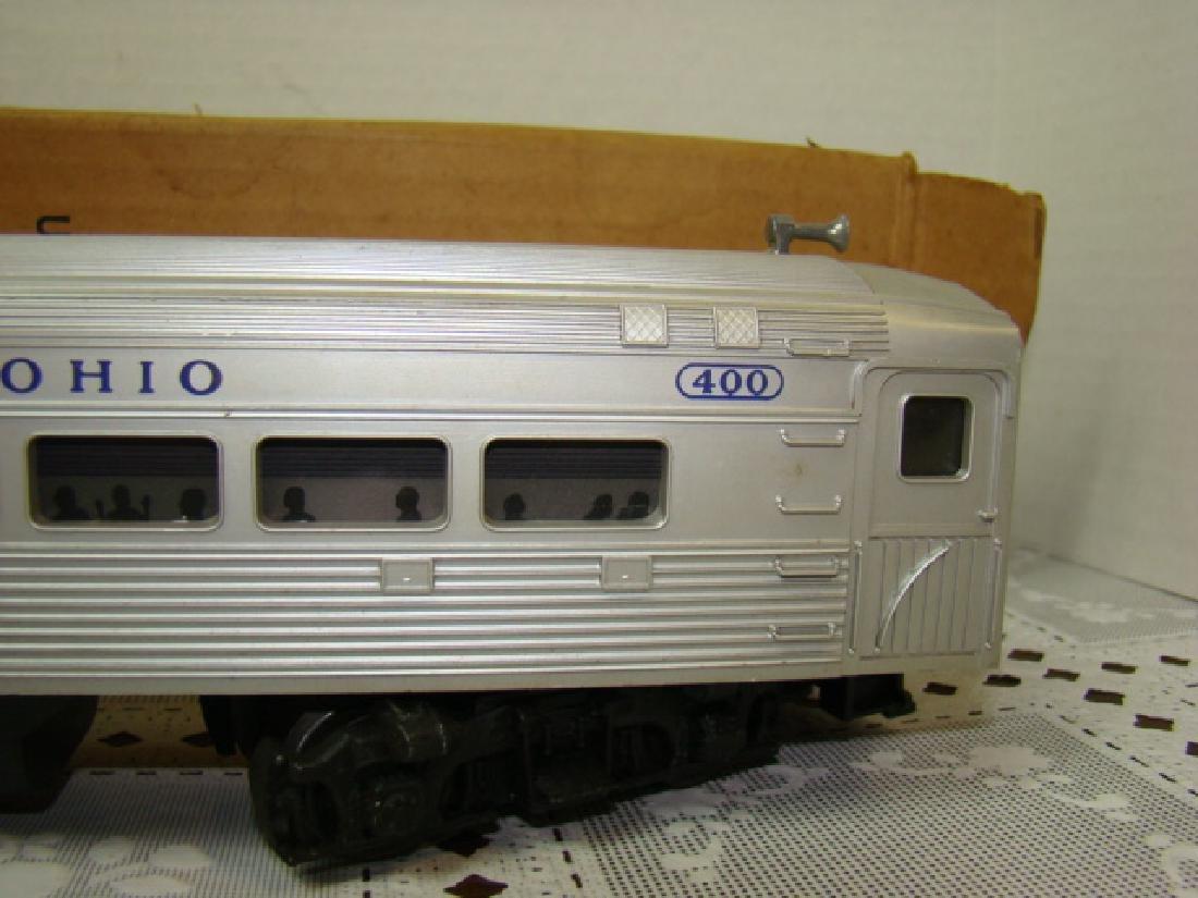 LIONEL TRAIN- BALTIMORE & OHIO PASSENGER TRAIN IN - 3