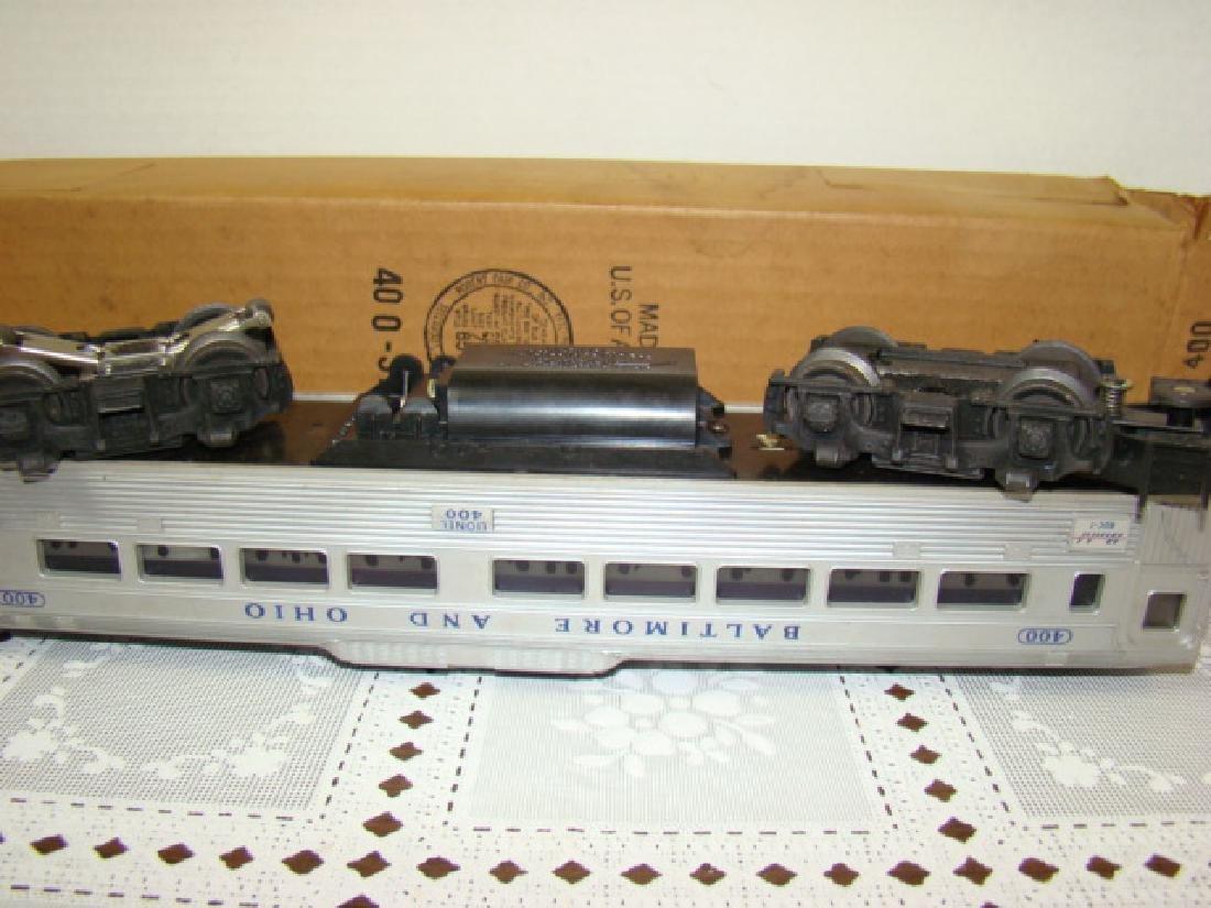 LIONEL TRAIN- BALTIMORE & OHIO PASSENGER TRAIN IN - 6