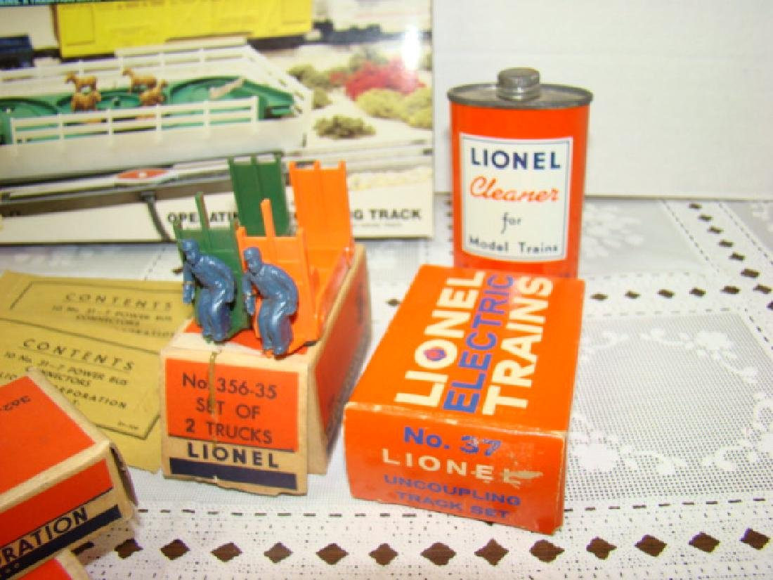 LIONEL POWER BUS CONNECTORS-CATTLE-BARRELS & MORE - 2