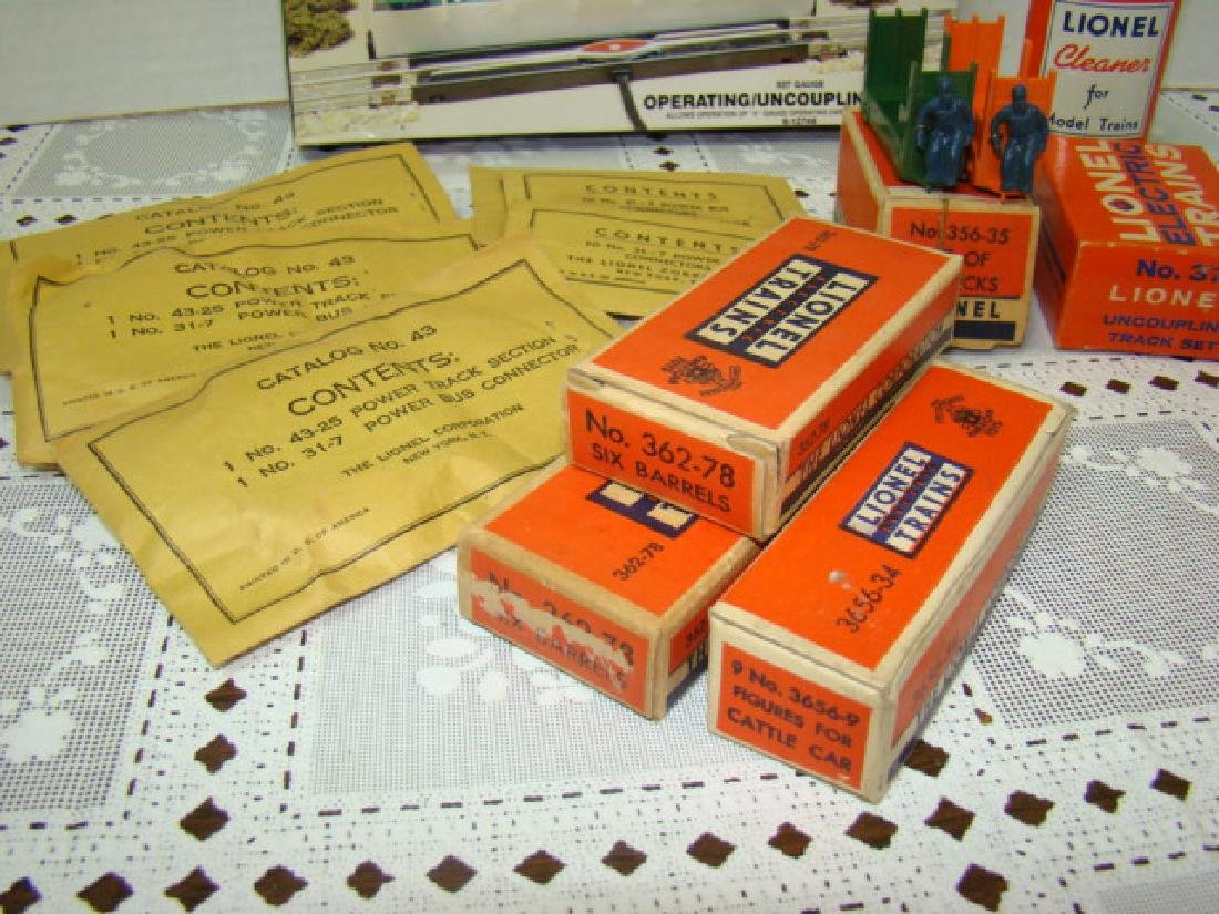 LIONEL POWER BUS CONNECTORS-CATTLE-BARRELS & MORE - 3