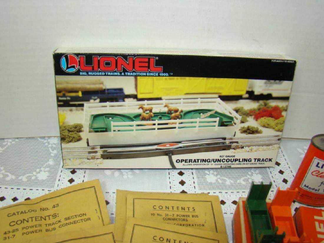 LIONEL POWER BUS CONNECTORS-CATTLE-BARRELS & MORE - 5