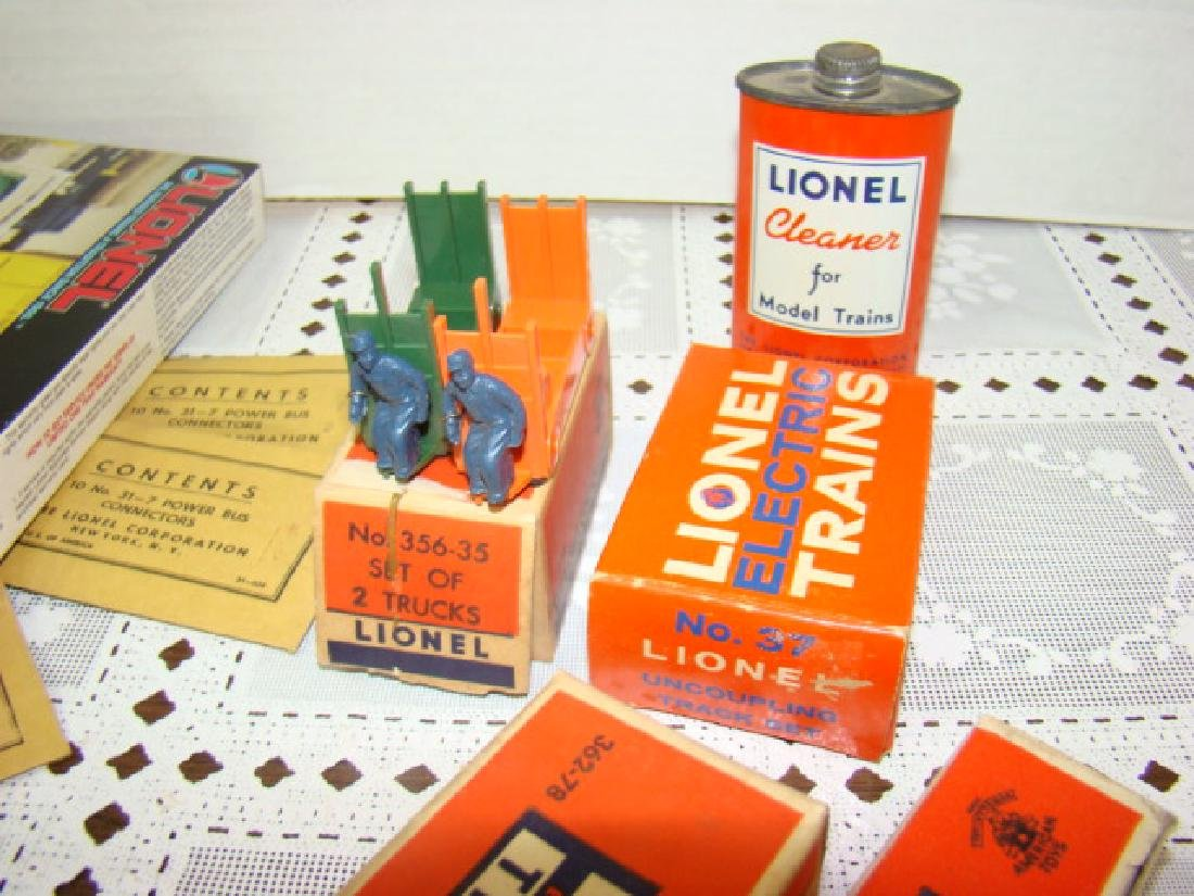 LIONEL POWER BUS CONNECTORS-CATTLE-BARRELS & MORE - 6