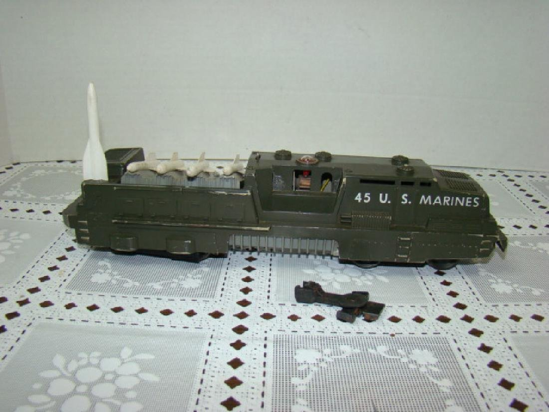 LIONEL 45 U.S. MARINES MISSLE LAUNCHER ENGINE