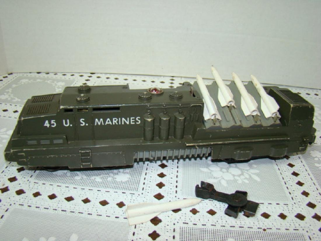 LIONEL 45 U.S. MARINES MISSLE LAUNCHER ENGINE - 4