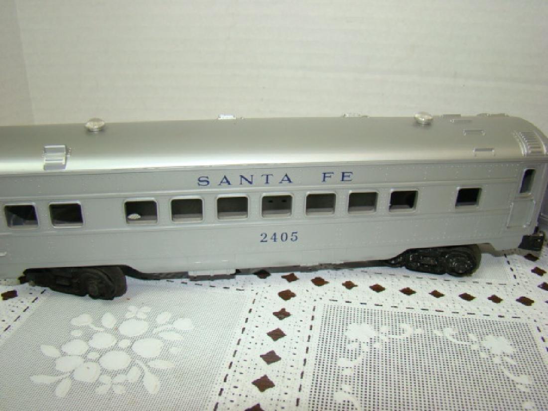 2 LIONEL LINES PASSENGER & OBSERVATION CAR - 3