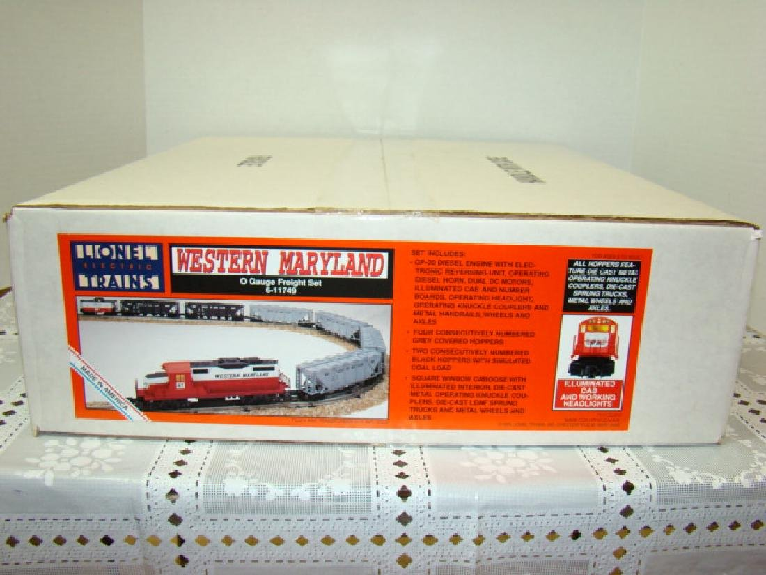 LIONEL WESTERN MARYLAND TRAIN SET SEALED IN ORIGIN