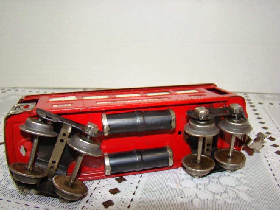 LIONEL LINES RED COMMODORE VANDERBILT LOCOMOTIVE & - 7