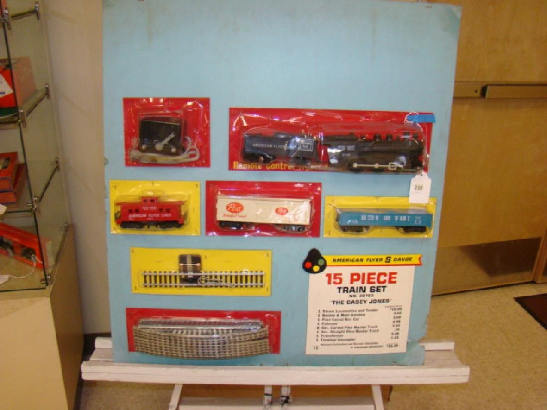 AMERICAN FLYER STORE DISPLAY