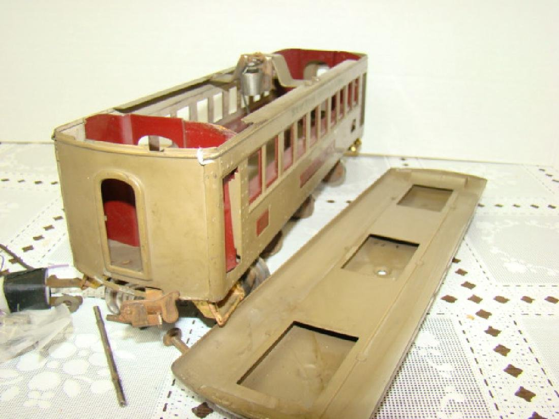 VINTAGE LIONEL PRE WAR PULLMAN TRAIN CAR - 6