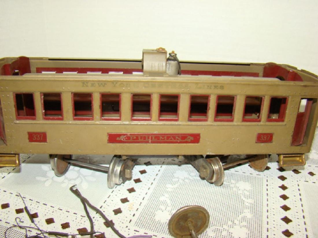 VINTAGE LIONEL PRE WAR PULLMAN TRAIN CAR - 7