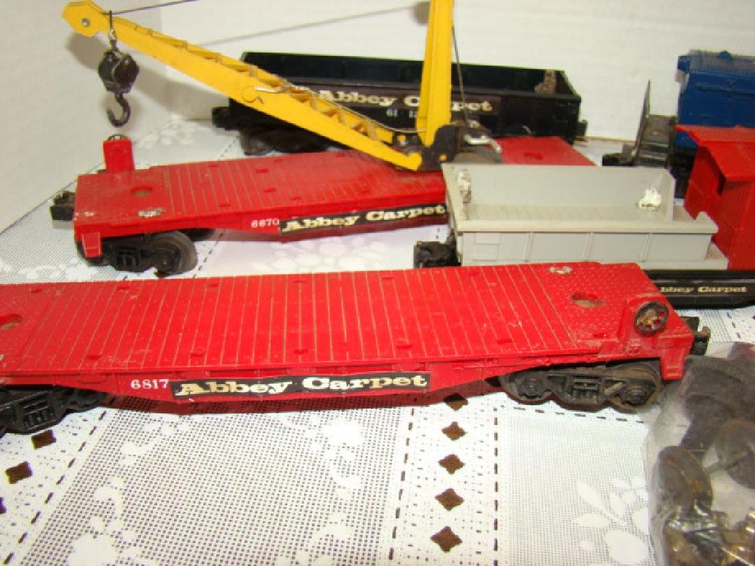 ADVERSTING SPECIAL TRAIN SET FOR ABBEY CARPETS - 3