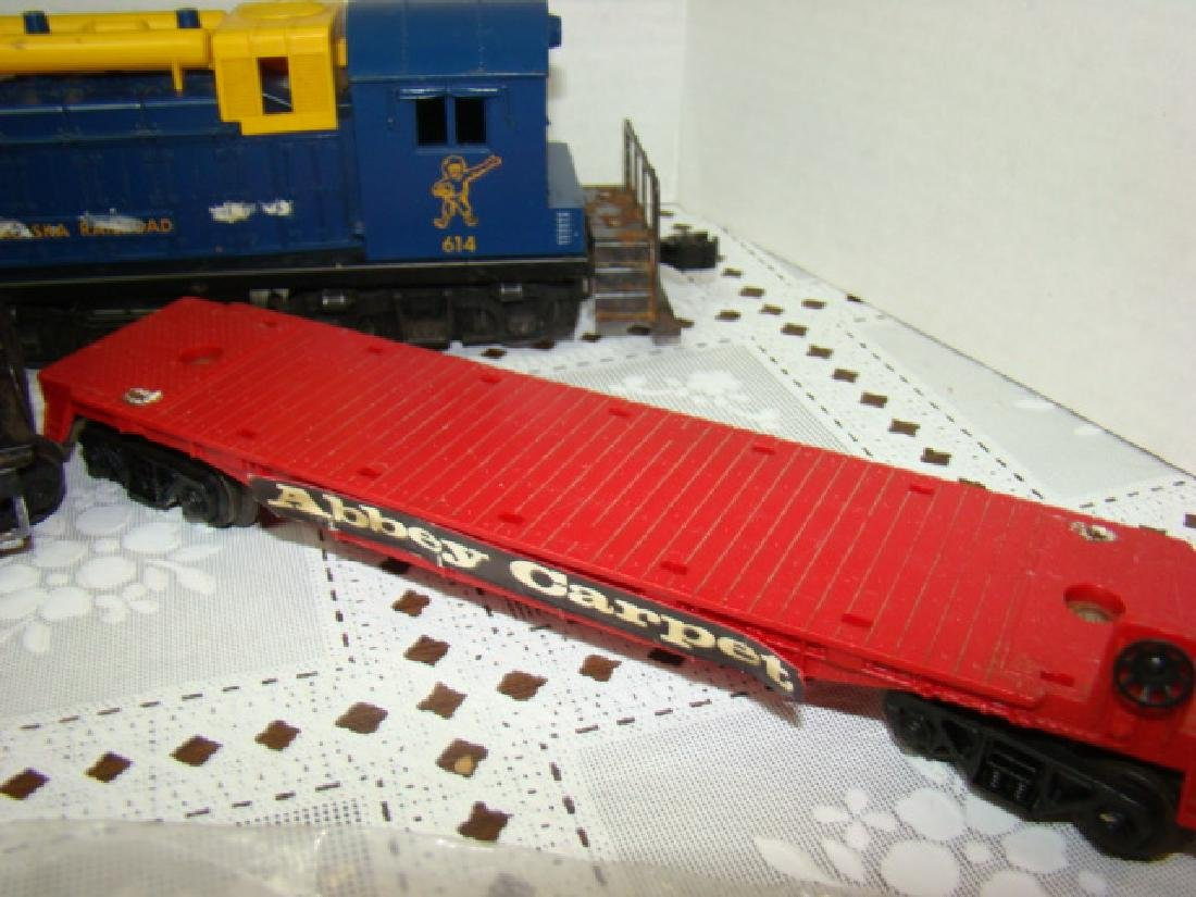 ADVERSTING SPECIAL TRAIN SET FOR ABBEY CARPETS - 4