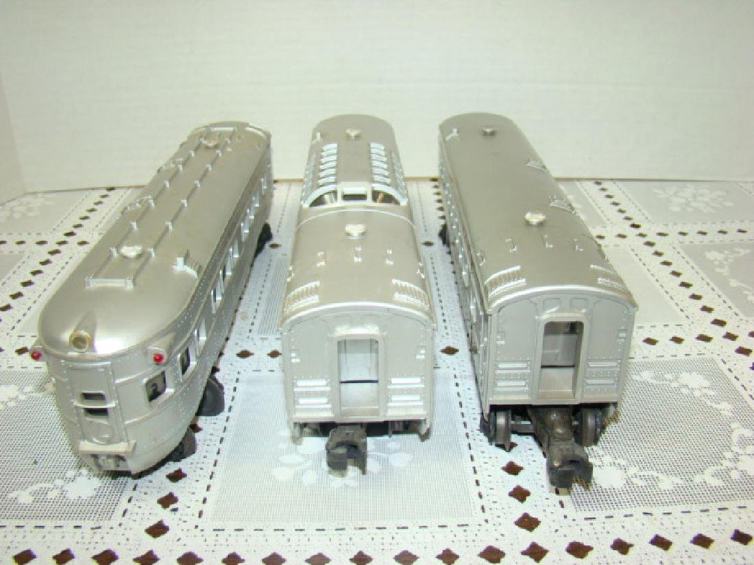 3 LIONEL LINES PASSENGER & OBSERVATION CARS - 2