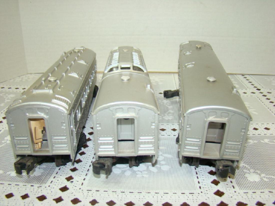 3 LIONEL LINES PASSENGER & OBSERVATION CARS - 3
