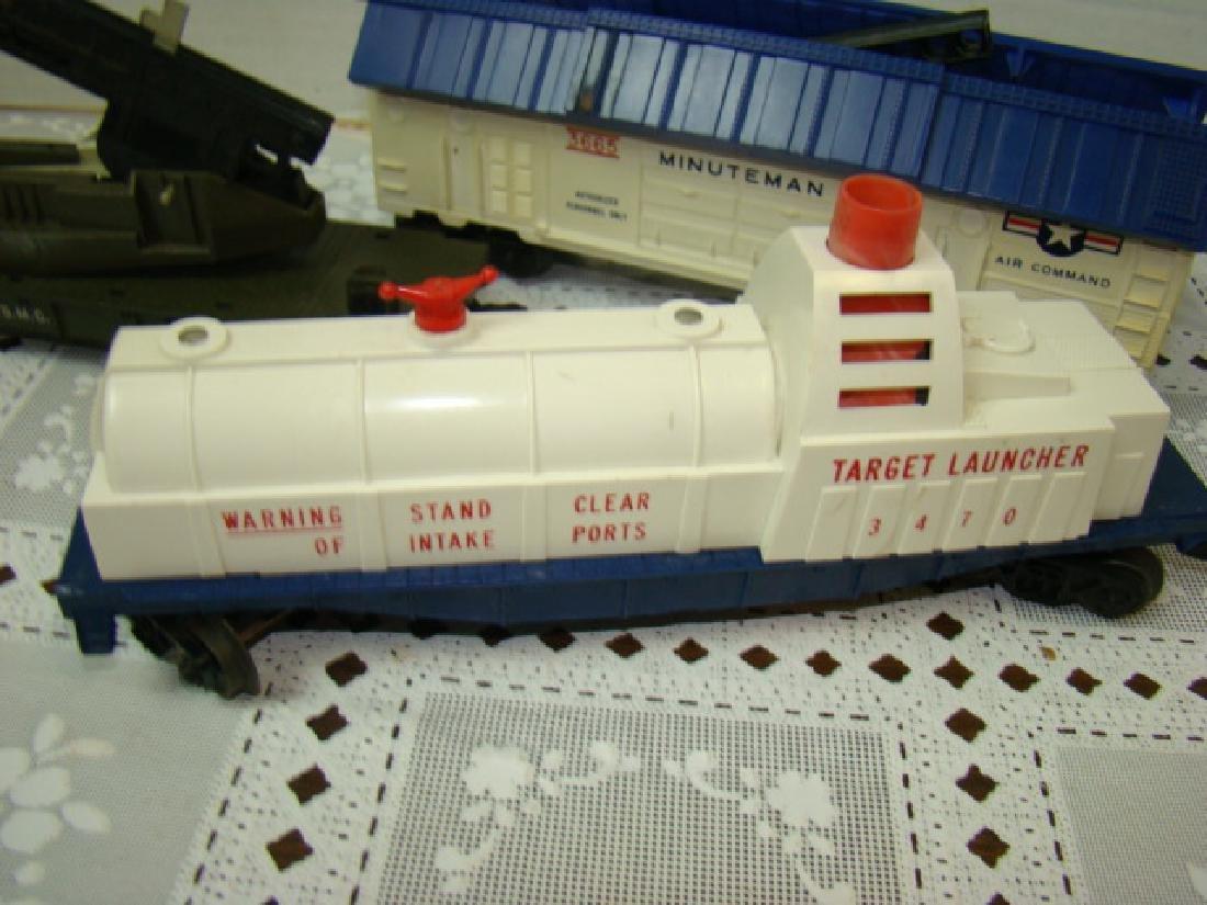 3 LIONEL ROCKET LAUNCHER CARS - 2