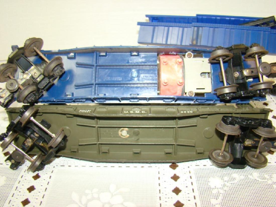 3 LIONEL ROCKET LAUNCHER CARS - 5