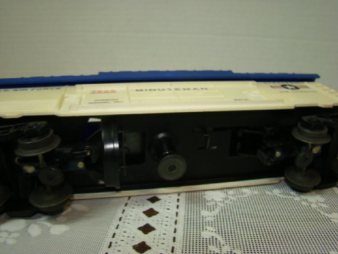 3 LIONEL ROCKET LAUNCHER CARS - 8