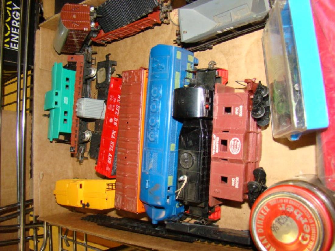 SHELF LOT-HO SCALE VARIOUS TRAINS - 2