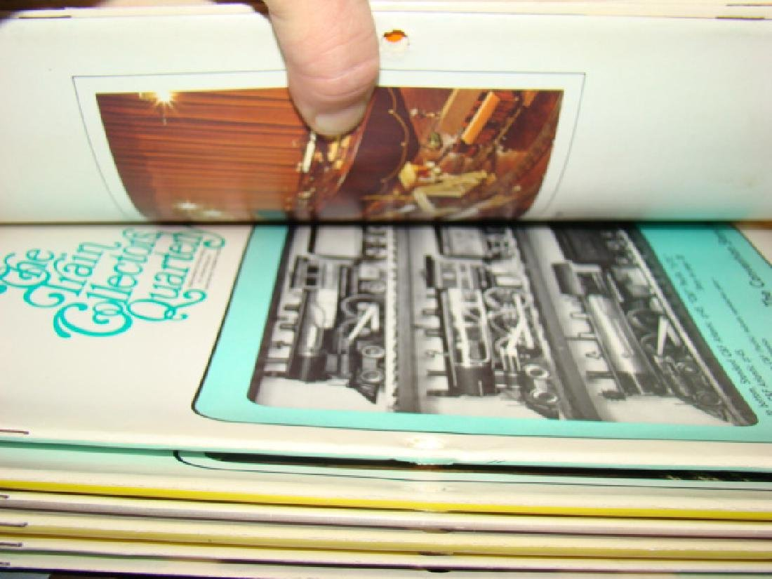TRAIN BOOKS AND BULLETINS - 5