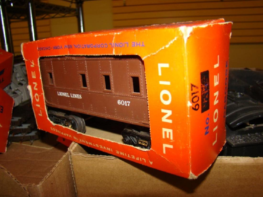 LOCOMOTIVES-TENDERS & LIONEL ACCESSORIES - 2