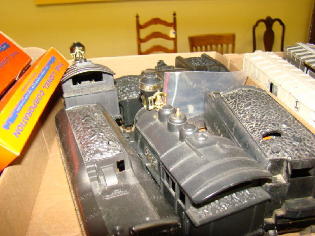 LOCOMOTIVES-TENDERS & LIONEL ACCESSORIES - 7