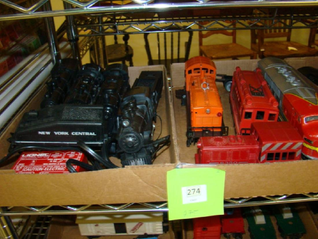 VARIOUS LIONEL LOCOMOTIVES-TENDERS
